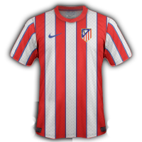 atletico madrid maillot foot  domicile 2011 2012