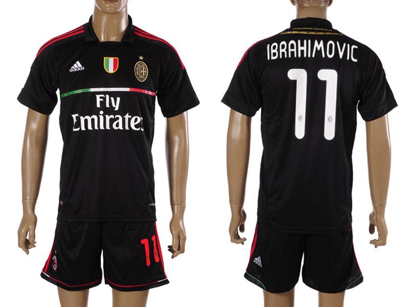 Favori Milan AC maillot de foot 2011-2012 - Maillots Foot Actu XI83