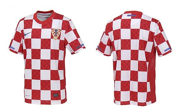 Maillot equipe de croatie de foot