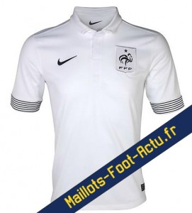 Maillot foot euro exterieur france 2012 2013 for Maillot equipe de france exterieur 2013