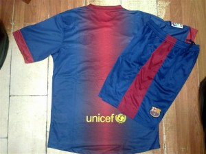 maillot football barcelone 2012 2013 domicile dos