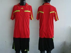 maillot arbitre equipement rouge