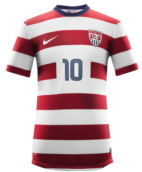 USA maillot de football nike domicile 2012 2013