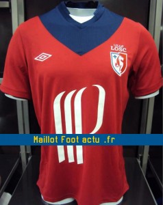 maillot foot lille losc 2012 2013