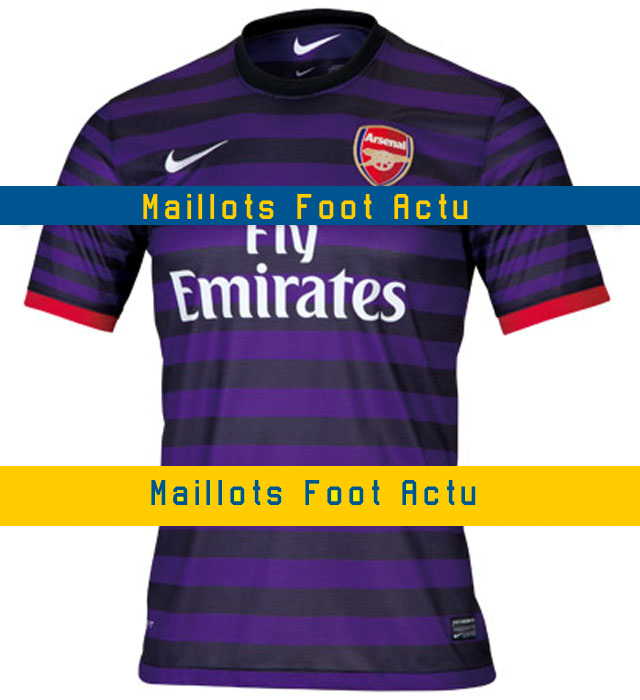 Arsenal maillot fooball exterieur 2013 for Arsenal maillot exterieur 2013