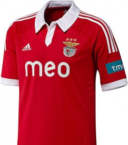 maillot foot domicile 2013 benfica