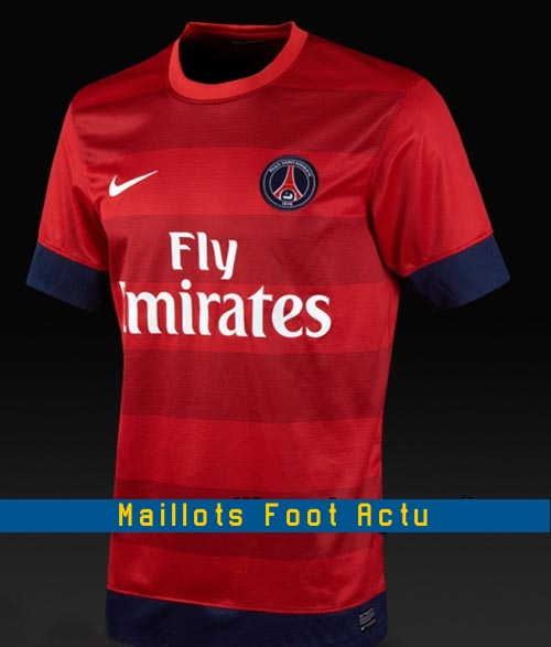 maillot psg exterieur 2013 maillots foot actu. Black Bedroom Furniture Sets. Home Design Ideas