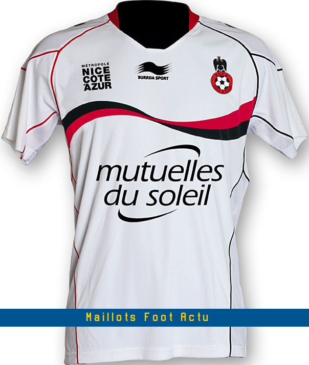 Maillots football nice 2013 for Arsenal maillot exterieur 2013