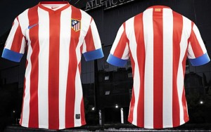 Atletico Madrid 12 13 maillot foot domicile