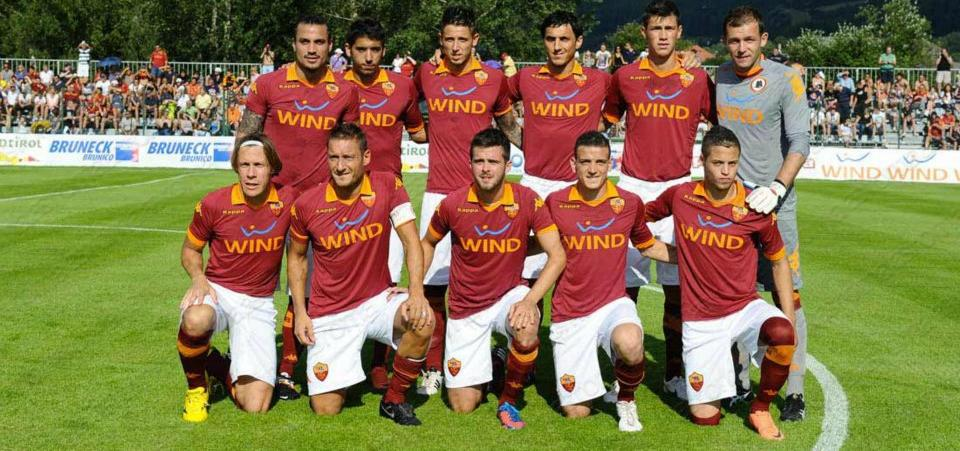 maillot as roma 2013