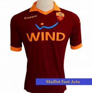 Maillot foot AS Roma 2013 domicile