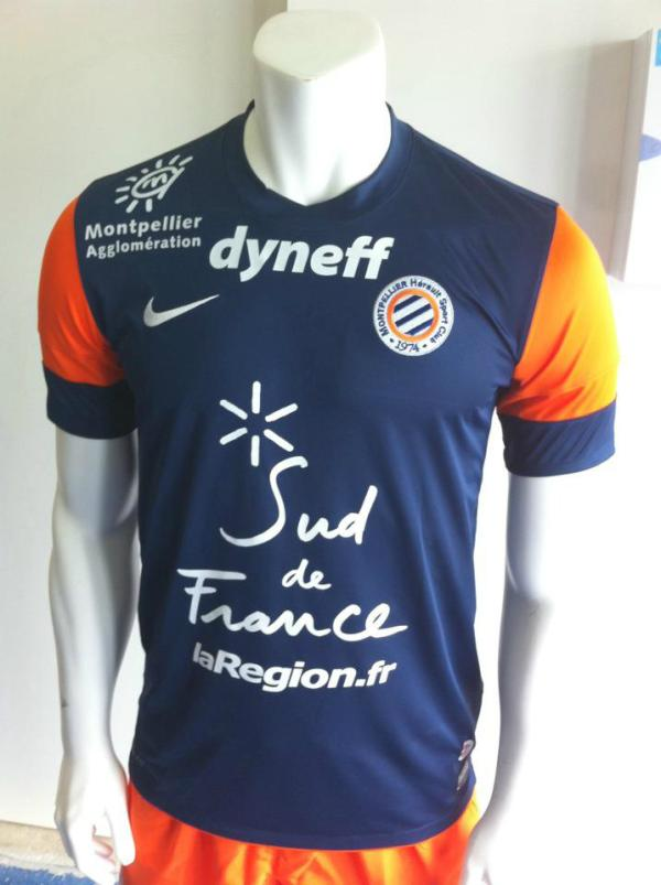 Maillot MONTPELLIER achat