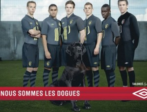 Lille OSC 2013 umbro 3eme maillot foot