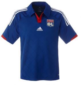 maillot exterieur OL 2013 bleu