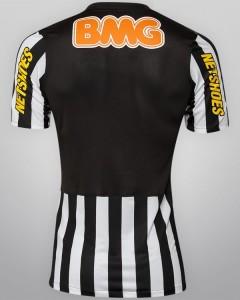 Santos 2012 nike maillot exterieur dos