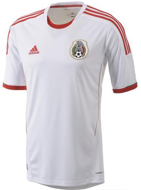 mexique 2013 maillot foot blanc