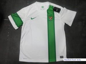 Indonésie 2012 nike maillot foot exterieur