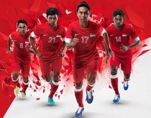 singapour maillot domicile 2012 2014