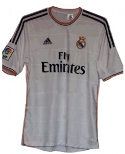 Real Madrid 2013 2014 maillot domicile