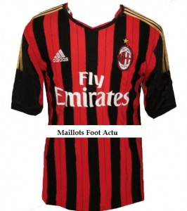 maillot-domicile-milan-ac-2013-2014-probable