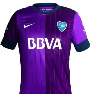 Violet-Boca-Juniors-maillot-foot-2013