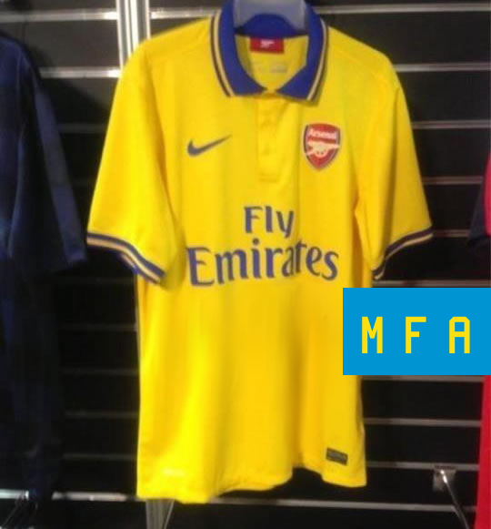Arsenal maillot exterieur 2013 2014 for Arsenal maillot exterieur 2013