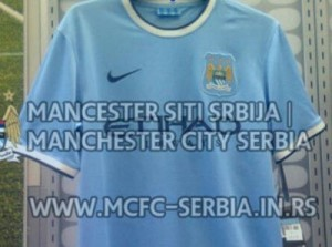 Maillot probable Manchester City 2013 2014