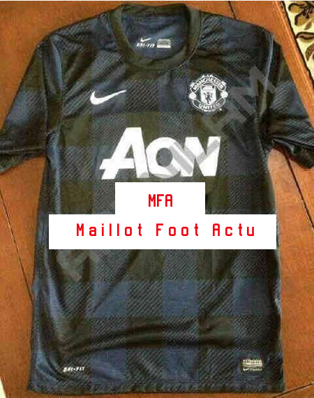 Manchester united maillots foot 2013 2014 for Manchester united exterieur