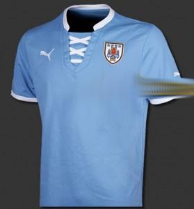 uruguay 2013 2014 domicile maillot foot