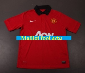 manchester united domicile maillot 2013 2014