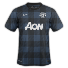 Manchester united exterieur 2013 2014 maillots foot actu for Manchester united exterieur