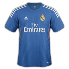 real madrid exterieur 2013 2014