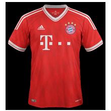 Bayern Munich 13 14 domicile maillot