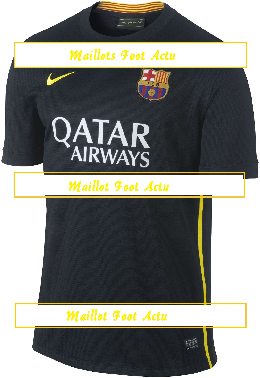 FC Barcelone 2013 2014 maillot third