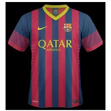 barcelone domicile 2013 2014