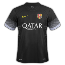 barcelone maillot foot third 2013 2014