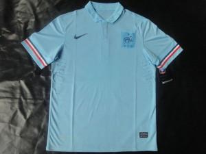 maillot de foot de la france exterieur 2013