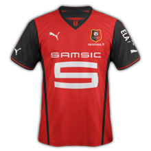 Maillot domicile rennes 2013 2014 maillots foot actu for Maillot rennes exterieur