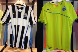 Maillots Newcastle 2014