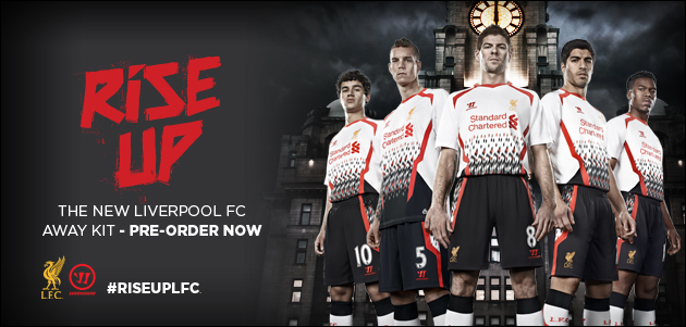 liverpool maillot foot exterieur 2013 2014