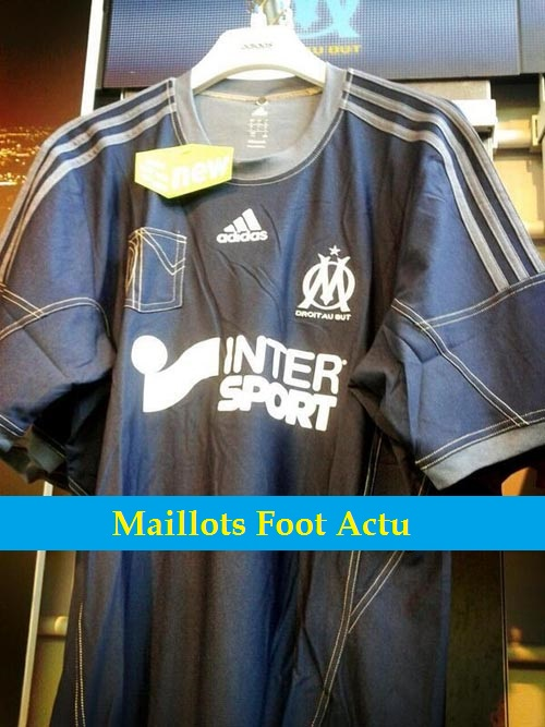 Om maillot jean exterieur 2014 maillots foot actu for Maillot exterieur om