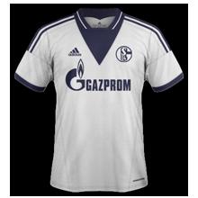 Schalke 13-14 maillot exterieur