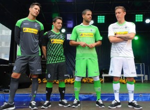 Maillots Borussia Monchengladbach 2013-2014