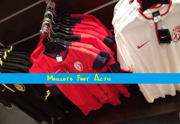 Nike Clubs Maillot Lille LOSC extérieur 2014 15