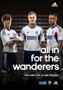 Maillot Home Bolton