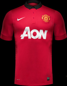 Maillot Home Man U