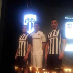Maillot Home et Away Angers