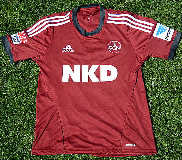 Maillot 1. FC Nuremberg