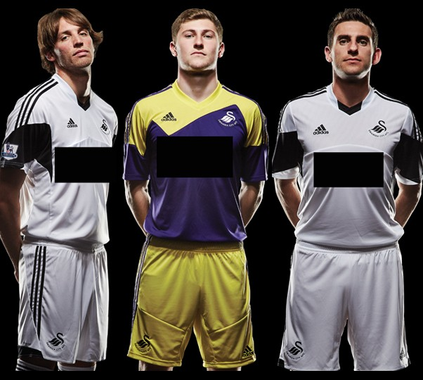 Maillots Swansea