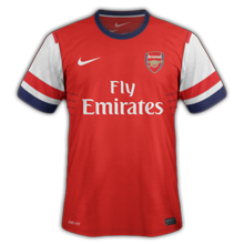 Maillot Home Arsenal